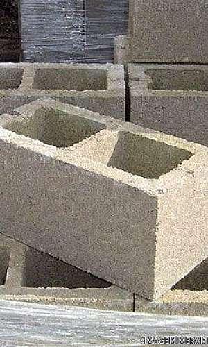 bloco de concreto por metro quadrado