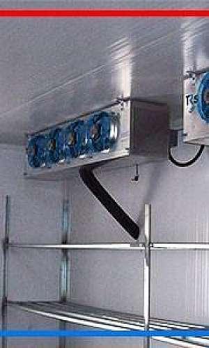 Câmara frigorífica modular