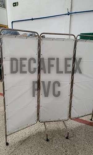 Cortinas de PVC em tiras hospitalar