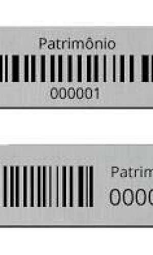 Distribuidor de placa de patrimônio