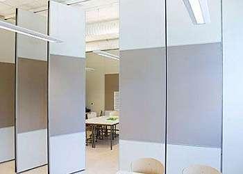 Divisórias em vidro para exterior