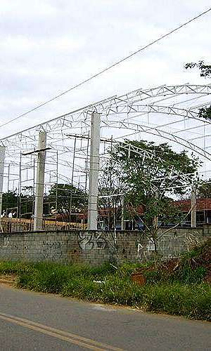 Estrutura metálica telhado preço