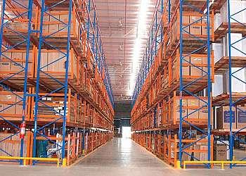 Estrutura porta palete Vila Carmosina