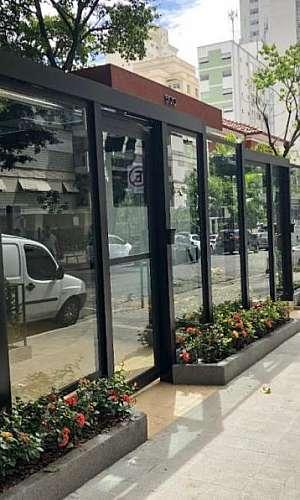 Fachadas em vidro e alumínio