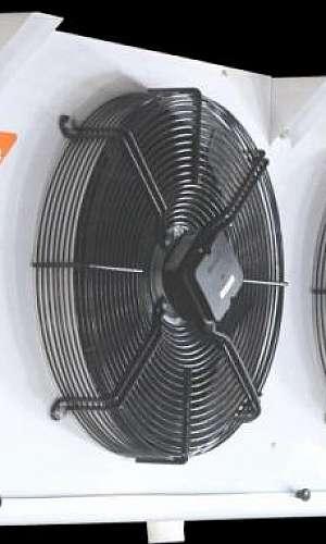 Forçador de ar para câmara frigorífica