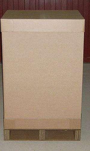 Fornecedor de caixa palete de papelão ondulado