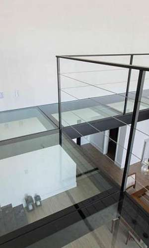 Mezanino de vidro preço
