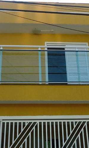 pele de vidro em casas