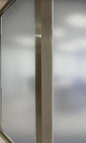 Película jateada para vidro