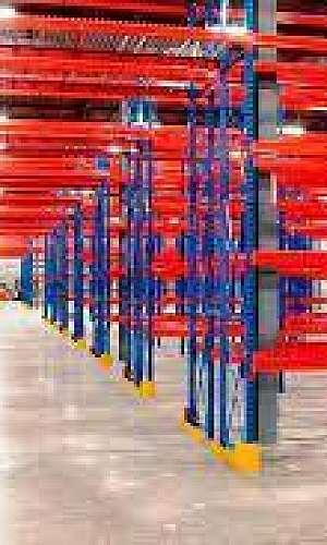 Porta paletes industrial