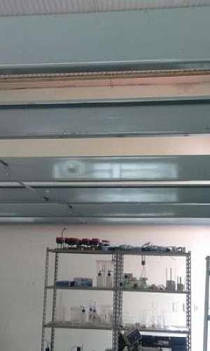 Reforço metálico para drywall