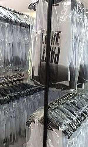 saco plástico para lavanderia