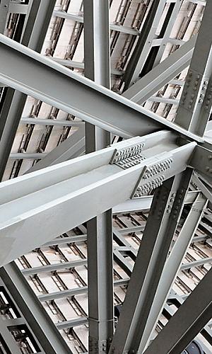 vigas de aço estrutural